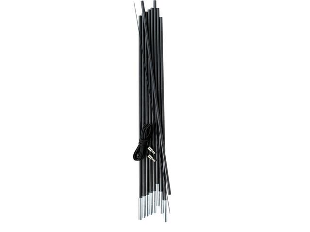 Gelert Fibreglass Pole Kit  - Varillas para tienda - gris/negro